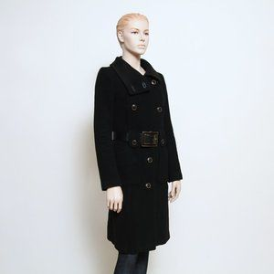 Mackage Double Breasted Wool Bland Coat